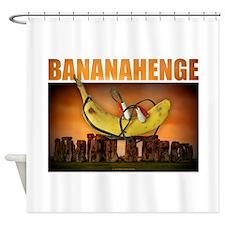 BANANAHENGE Shower Curtain