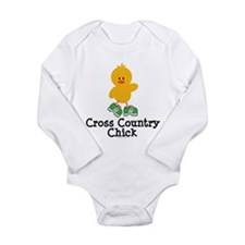 Cute Run forest run women Long Sleeve Infant Bodysuit