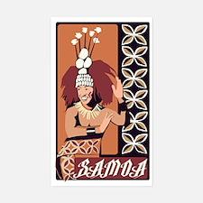 Samoan Dance Taupou Decal