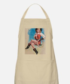 Cute Cowboy pins Apron