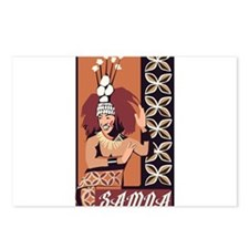 Samoan Dance Taupou Postcards (Package of 8)