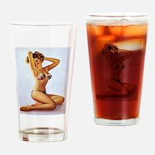 Cute Gay lesbian bi transgender Drinking Glass