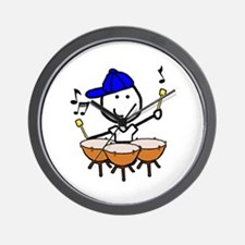 Boy & Timpani Wall Clock
