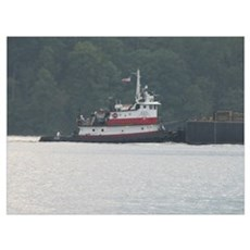 Tug Virginia Canvas Art