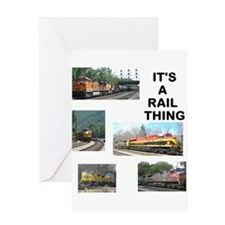 RailFans Greeting Cards