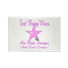 fort bragg wives are mde stro Rectangle Magnet