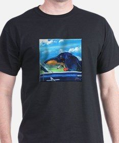 Driving Doxie T-Shirt