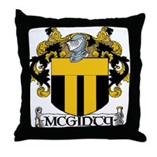 McGinty Coat of Arms Throw Pillow