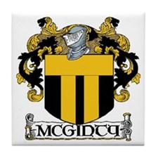 McGinty Coat of Arms Tile Coaster