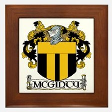 McGinty Coat of Arms Framed Tile