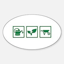 Gardener Sticker (Oval)