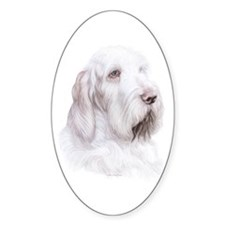 Italian Spinone Italiano Oval Decal