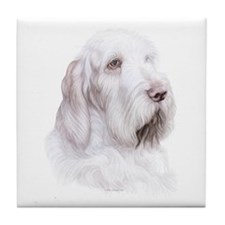 Italian Spinone Italiano Tile Coaster