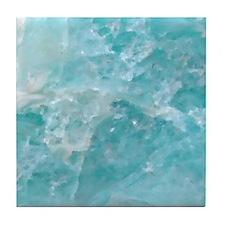 Blue-Agate-Art-Design Tile Coaster