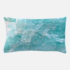 Blue-Agate-Art-Design Pillow Case