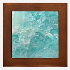 Blue-Agate-Art-Design Framed Tile