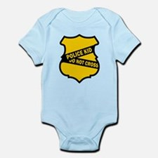 Cute Police baby Infant Bodysuit