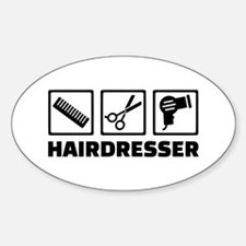 Hairdresser equipment Decal