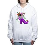 Holiday Shoe Women's Hooded Sweatshirt