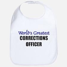 Worlds Greatest CORRECTIONS OFFICER Bib