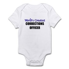 Worlds Greatest CORRECTIONS OFFICER Infant Bodysui