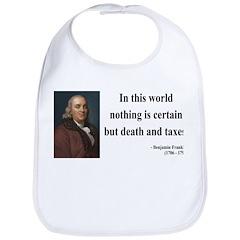 Benjamin Franklin 3 Bib