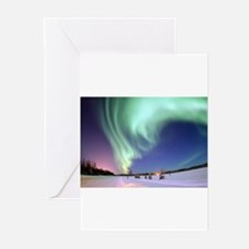 Cute Aurora borealis Greeting Cards (Pk of 20)