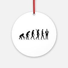 Evolution Engineer Round Ornament