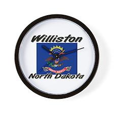 Williston North Dakota Wall Clock