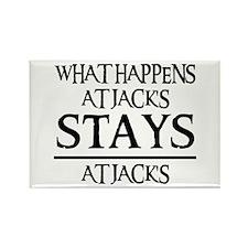 STAYS AT JACK'S Rectangle Magnet
