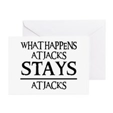 STAYS AT JACK'S Greeting Cards (Pk of 20)