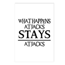 STAYS AT JACK'S Postcards (Package of 8)