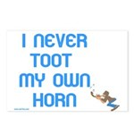 I Never Toot My Own Horn Postcards (Package of 8)