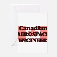 Canadian Aerospace Engineer Greeting Cards