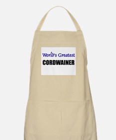 Worlds Greatest CORDWAINER BBQ Apron