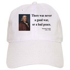 Benjamin Franklin 4 Baseball Cap
