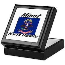 Minot North Dakota Keepsake Box