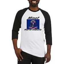 Minot North Dakota Baseball Jersey