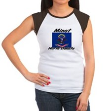 Minot North Dakota Women's Cap Sleeve T-Shirt