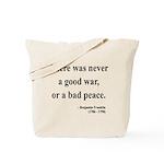 Benjamin Franklin 4 Tote Bag