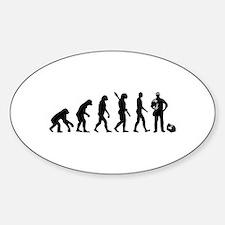Evolution Electrician Sticker (Oval)