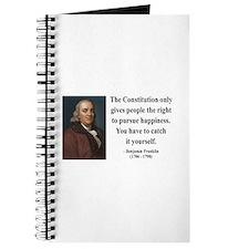 Benjamin Franklin 5 Journal