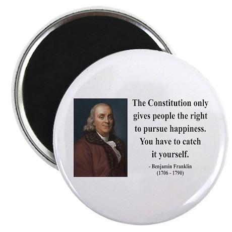 Benjamin Franklin 5 Magnet