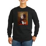 Lincoln's 2 Corgis (Pem) Long Sleeve Dark T-Shirt