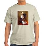 Lincoln's 2 Corgis (Pem) Light T-Shirt