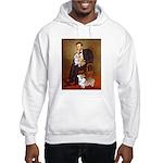 Lincoln's 2 Corgis (Pem) Hooded Sweatshirt
