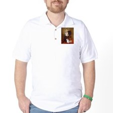 Lincoln's 2 Corgis (Pem) T-Shirt