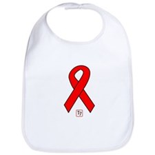 Red Ribbon Bib