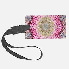 zen pink lotus flower hipster Luggage Tag