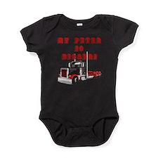 Funny Peterbilt Baby Bodysuit